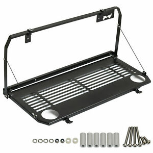 For 18 19 Jeep Wrangler Jl Accessories Rear Multi purpose Tailgate Mounted Table