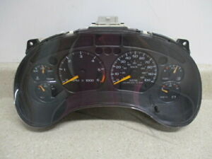 01 04 Chevy S10 Jimmy 4 3l At Speedometer Instrument Cluster Gauge Oem 09374185