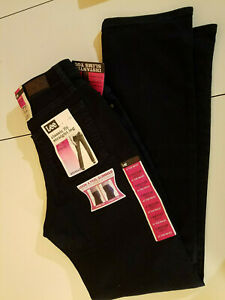 NEW wTags Womens Lee Jeans Sz 6 Med Classic Fit Straight Leg Slim Slimming Blue