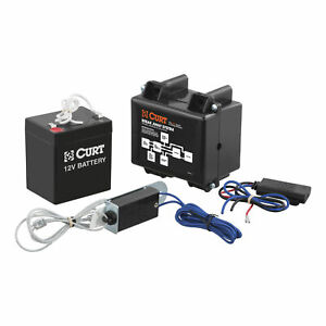 52040 Curt Soft trac 1 Electric Trailer Brakes Breakaway Kit With Charger