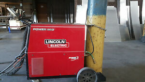 Lincoln Power Mig 256 With Spool Gun