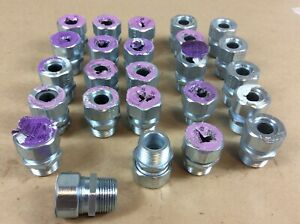 25 Used Appleton Cg3775s 3 4 Steel Cord Cable Strain Relief Grip Connectors