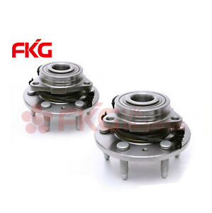 2 New Front Wheel Hub Bearing Assembly For Chevy Gmc Cadillac Awd 4x4 4wd 515096