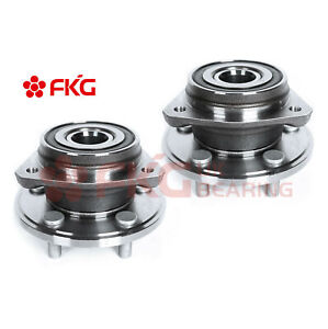 2 front Wheel Bearings Hub Assembly For Jeep Grand Cherokee Wrangler 4wd 513084