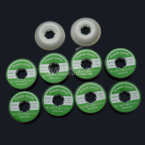 Dental Orthodontic Elastolink Chain Clear Long Short Continuous 15 Sheet