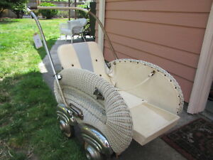 Unique Vintage Or Antique German Baby Buggy Baby Stroller