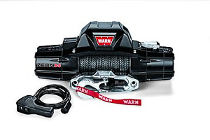 Warn Industries Zeon 8000lb Winch Spydura Synthetic Rope
