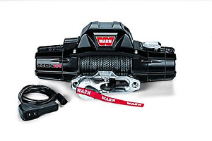 Warn Industries Zeon 10000lb Winch Spydura Synthetic Rope