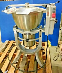 Hobart 45 Quart Vertical Cutter Mixer Hcm450 Commercial Food Prep Equipment