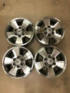 05 15 Toyota Tacoma Trd Oem Wheels Set Of 4 With Center Caps 17 X 7 5 Aly69463