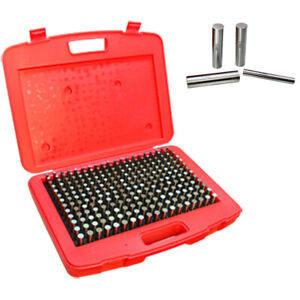 Pin Gage Set Of 250 Pcs 0 251 0 500 Inch 0 0002 Inch Minus Accuracy