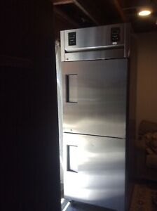 true Commercial Refrigerator Freezer Tr1dt 2hs Used Nice Condition