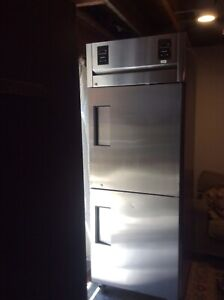 true Commercial Refrigerator Freezer Tr1dt 2hs Used Clean Needs Service