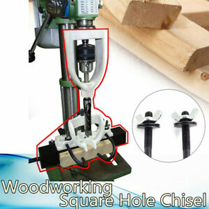 Woodworking Square Hole Chisel Mortising Mortise Tenon Drill For Bench Drill