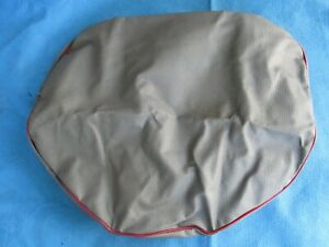 Vintage Nos Y F Cushion Mfg Cushion Seat Cover Gray Red For Farm Tractor