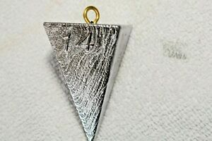 14 oz Pyramid Surf Fishing Lead Weights Sinkers - 50 pounds - Free Shipping $199.00