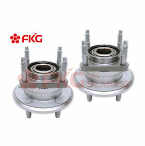 2 rear Wheel Hub Bearing For 05 10 Jeep Grand Cherokee Commander W abs 512302