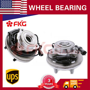 Front Wheel Bearing Hub For 06 10 Ford Explorer Mercury Mountaineer 515078 X2