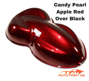 Candy Pearl Red Quart With Quart Reducer Candy Midcoat Only Car Auto Paint Kit