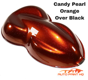 Candy Pearl Orange Quart With Reducer Candy Midcoat Only Car Auto Paint Kit