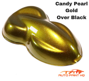 Candy Pearl Yellow Quart With Reducer candy Midcoat Only Car Auto Paint Kit