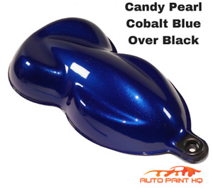 Candy Pearl Cobalt Blue Quart With Reducer candy Midcoat Only Auto Paint Kit