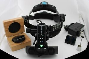 Indirect Ophthalmoscope Binocular Rechargeable Led 4 Filter Indirect 20d Lens