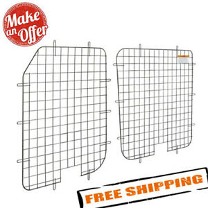 Weather Guard 88062 Rear Door Window Screen Van Mid High Roof For Ford Transit
