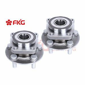New Front Wheel Hub Bearing Assembly For Legacy Outback W Abs 5 Lugs 513220 X2