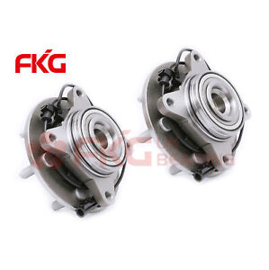 2 Front Wheel Bearing Hub For 03 2006 Ford Expedition Navigator 2wd Rwd 515042