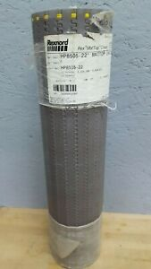 Rexnord Hp8505 22 00in Mat Top Conveyor Chain 5 Long X 22 Wide Table Top Nos