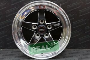 Weld Racing Rt S S71 15x10 Med Pad Black Wheel 5x114 3 Lug 05 14 Ford Mustang