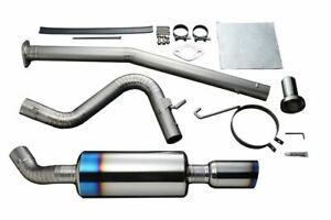 Tomei Expreme Ti Full Titanium Cat Back Type S Muffler For Ae86 Tb6090 Ty01b