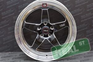 Weld Wheels Black Rt S S71 18x9 0 High Pad 5x114 3 For 93 98 Supra Front Wheel