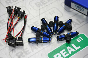 1200cc Fic For Supra 2jz gte Fuel Injector Clinic Injectors Set Is145 1200h