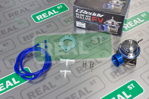Greddy New Authentic Type Fv Blow Off Valve 40mm Blue 11501665