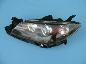 07 08 09 Mazda 3 Sedan Left Driver Side Headlight Lamp Light Xenon Hid Used Oem