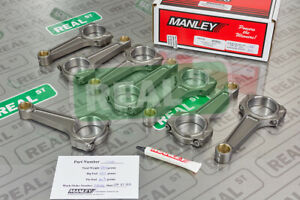 Manley Pro Series 5 933 I beam Lightweight Connecting Rods Ford 4 6l 5 0l Coyote
