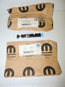 2 Oem Mopar 2006 2010 Dodge Charger Magnum Hemi Emblem Badge Nos Pair