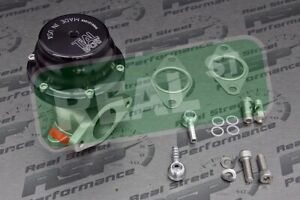 Black Tial 38mm 14 5psi Wastegate Real Authentic F38 Real With Fittings