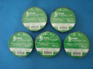 5 Rolls Duck Auto Electrical Tape New 3 4 In X 60 Ft