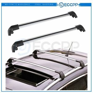 Fit For Mitsubishi Outlander 2013 2019 Luggage Roof Rack Cross Bar Set Us Stock