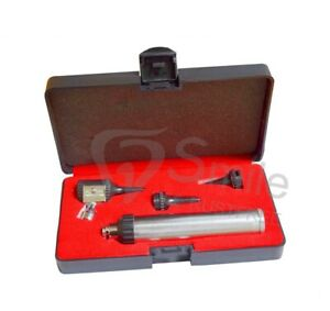 Ent Professional Veterinary Medical Diagnostic Otoscope Kit Set Specula Case New