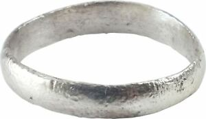 Ancient Viking Wedding Ring Norse Band C 850 1050 Ad Size 8 18 8mm
