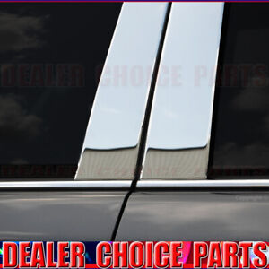 Chrome Stainless Steel Pillar Posts For 2010 2015 2016 2017 Chevy Equinox 6pc