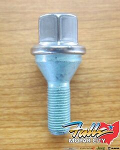 2012 2020 Chrysler Dodge Jeep Hex Head Bolt For Aluminum Wheels New Mopar Oem