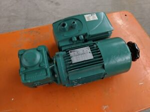 Leroy Somer 3ph Ls71l Right Angle Gearmotor 40 1 Reducer Free Shipping