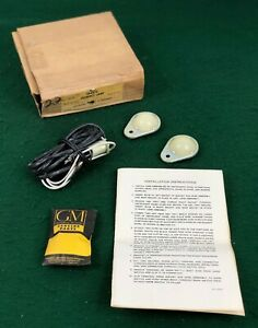 Nos 1953 1954 53 54 Pontiac Accessory Courtesy Lamp Lens Package 984870