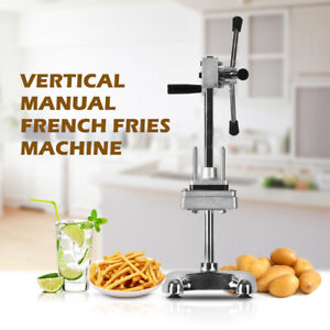 Commercial Vertical French Fries Machine Cucumber Carrot Cutter Potato Chip