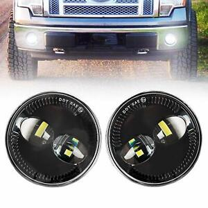 Pair 48w Led Fog Lights Bumper Car Driving Lamp H11 Fit For Ford F150 2009 2014